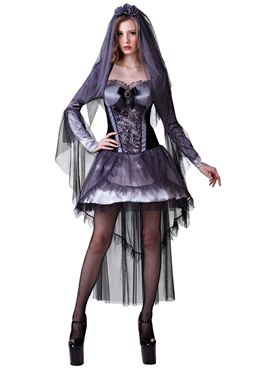 Adult Dark Bride Costume Thumbnail