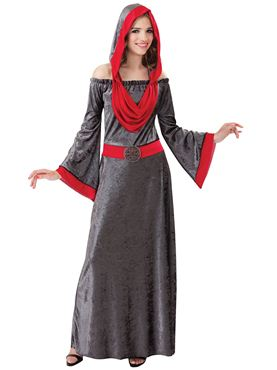 Adult Deathly Woman Costume