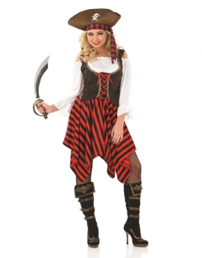 Adult Pirate Girl Costume