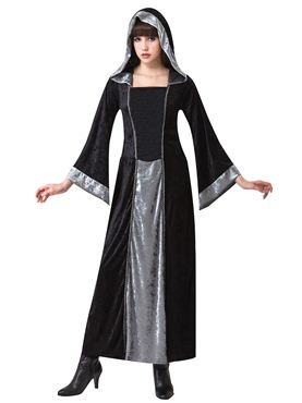 Adult Gothic Hooded Velvet Cloak