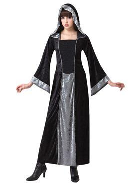 Adult Gothic Hooded Velvet Cloak