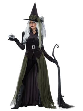 cad3deb66ff Ladies Gothic Witch Costume - 01428 - Fancy Dress Ball