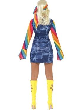 Adult Ladies Groovier Dancer Costume - Side View