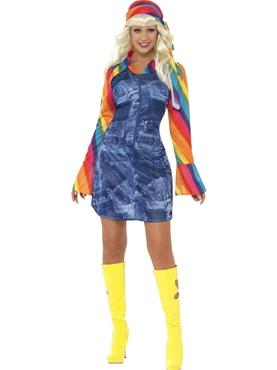 Adult Ladies Groovier Dancer Costume