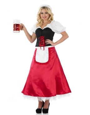 Adult Bavarian Lady Oktoberfest Costume
