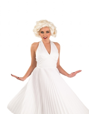 Adult 50s Film Star Marilyn Costume - Back View  sc 1 st  Fancy Dress Ball & Adult 50s Film Star Marilyn Costume - FS3752 - Fancy Dress Ball