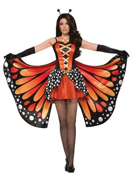 Ladies Miss Monarch Butterfly Costume