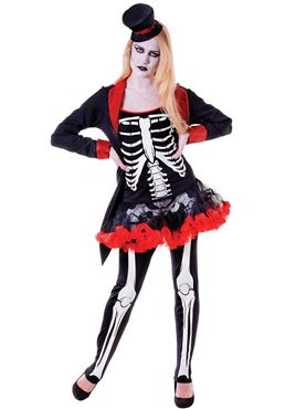 Adult Mrs Bone Jangles Costume Couples Costume