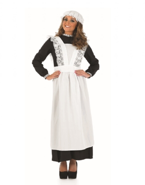 Adult Old Time Victorian Maid Costume