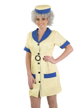 Adult Hi De Hi Peggy Cleaner Costume