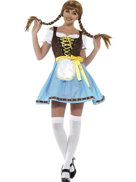 Ladies Olga Bavarian Costume Couples Costume