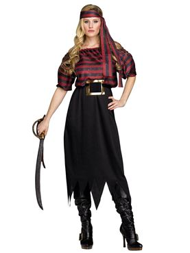 Adult Ladies Pirate Maiden Costume Thumbnail