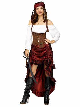 Ladies Pirate Queen Costume