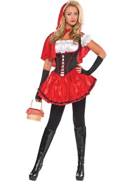 Ladies Red Riding Hood Costume