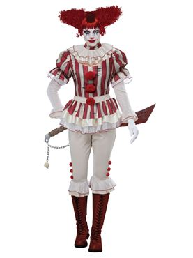 Ladies Sadistic Clown Costume