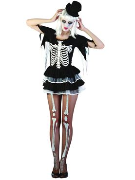 Adult Skeleton Lady Costume Thumbnail
