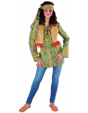 Adult Ladies Summer of Love Costume Couples Costume