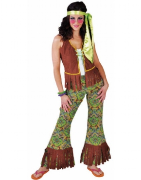Adult Ladies Summer of Love Hippie Costume Thumbnail