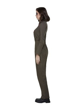 Ladies Top Gun Costume - Back View