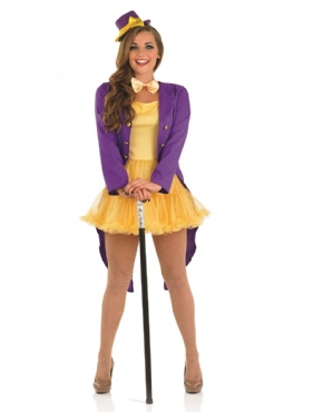 Adult Sexy Willy Wonka Costume Thumbnail