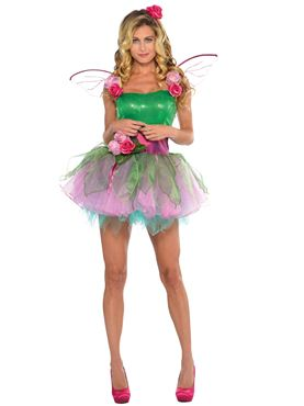 Ladies Woodland Nymph Fairy Costume