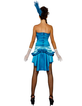 Adult Lady Elegance Costume - Back View