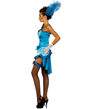 Adult Lady Elegance Costume - Side View