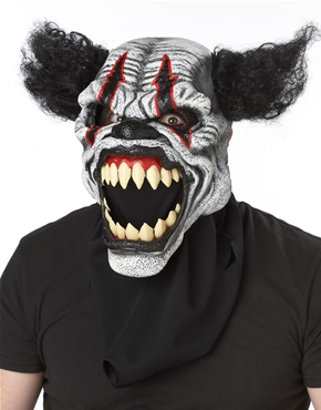 Adult Last Laugh Clown Ani-Motion Mask