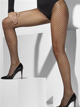Lattice Black Tights
