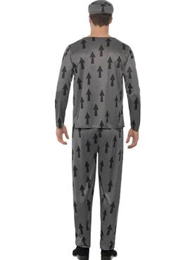 Adult Lawbreaker Convict Costume - Side View