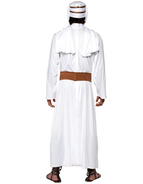 Adult Lawrence of Arabia Costume - Back View
