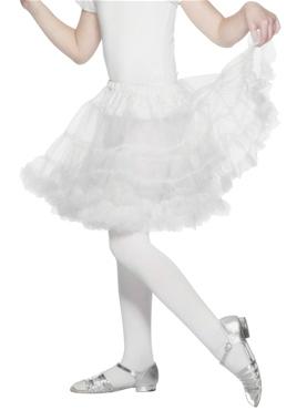 Layered Petticoat White
