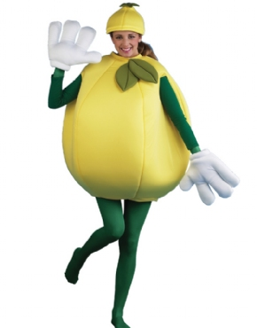 Adult Lemon Costume Couples Costume
