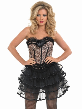 Adult Leopard Layered Tutu Costume