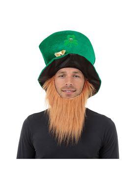 Leprechaun Irish Hat and Beard