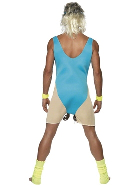 Adult Lets Get Physical Costume - Side View