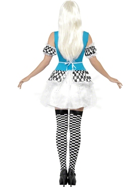Adult Light Up Alice Costume - Side View