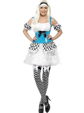 Adult Light Up Alice Costume
