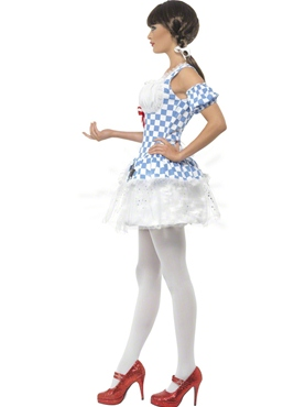 Adult Light Up Dorothy Costume - Back View