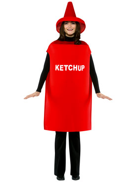Adult Light Weight Ketchup Costume Thumbnail