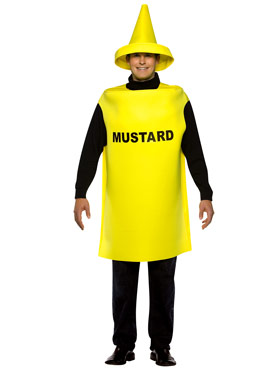 Adult Light Weight Mustard Costume Thumbnail