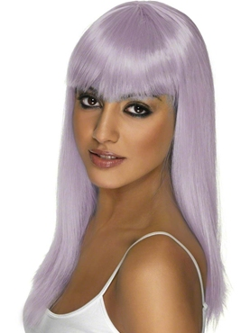 Lilac Long Glam Wig