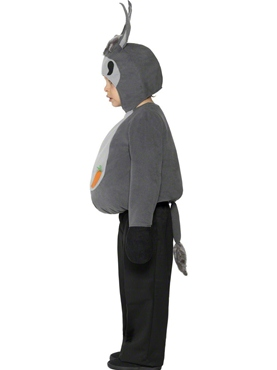 Child Little Donkey Childrens Costume - Back View