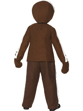Child Little Ginger Man Costume - Side View