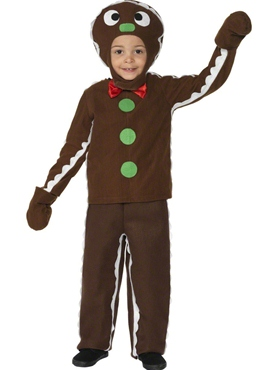 Child Little Ginger Man Costume