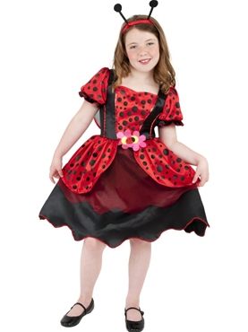Child Little Lady Bug Costume