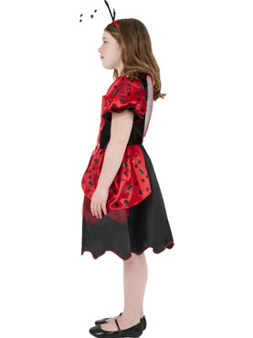 Child Little Lady Bug Costume - Back View