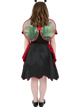 Child Little Lady Bug Costume - Side View