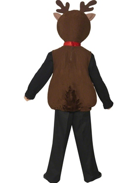Child Little Reindeer Costume - Side View