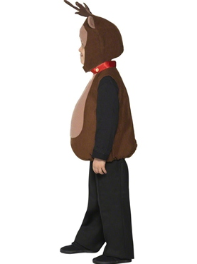 Child Little Reindeer Costume - Back View